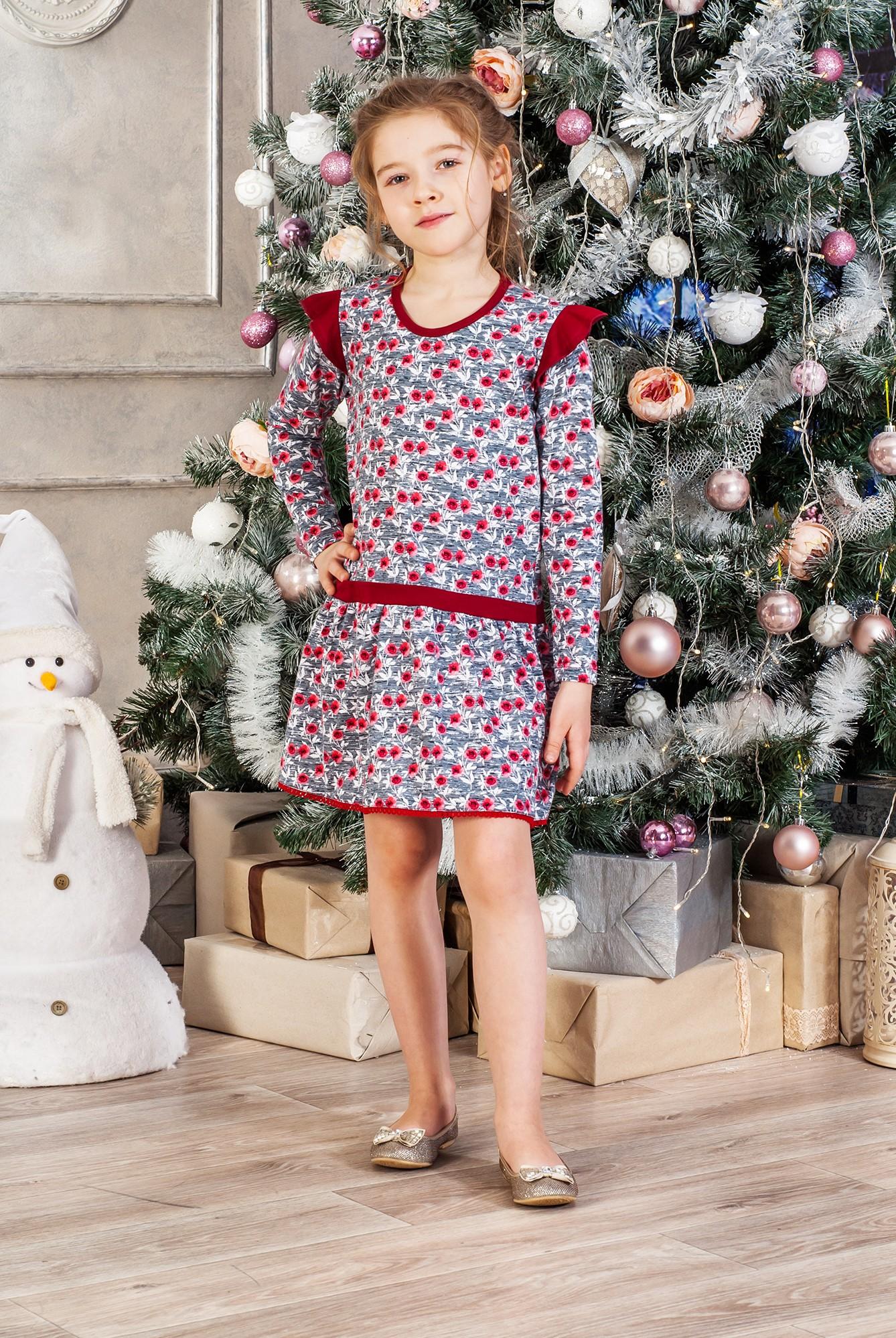 Платье детское Цветик Д