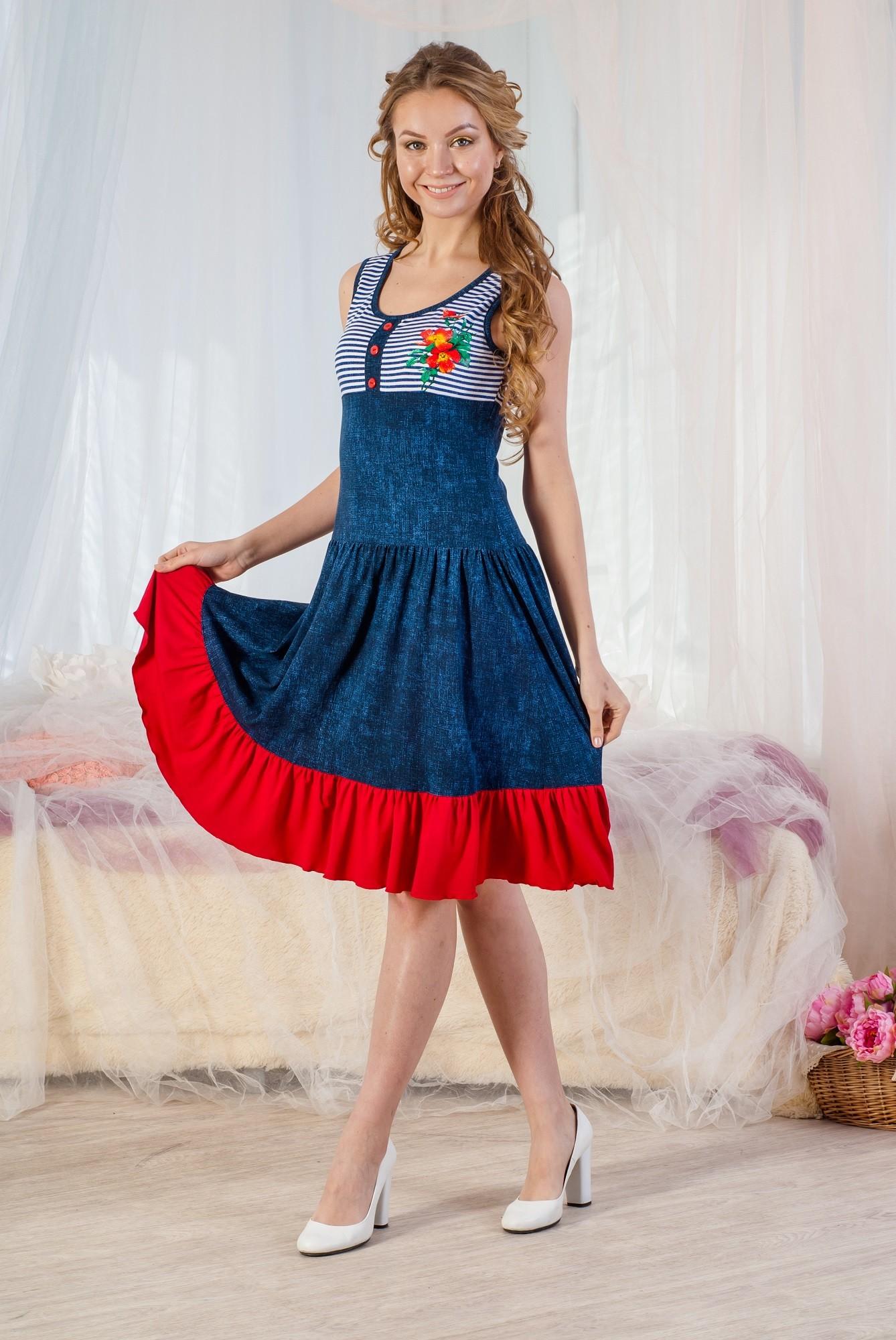 Платье вискоза Сеньорита